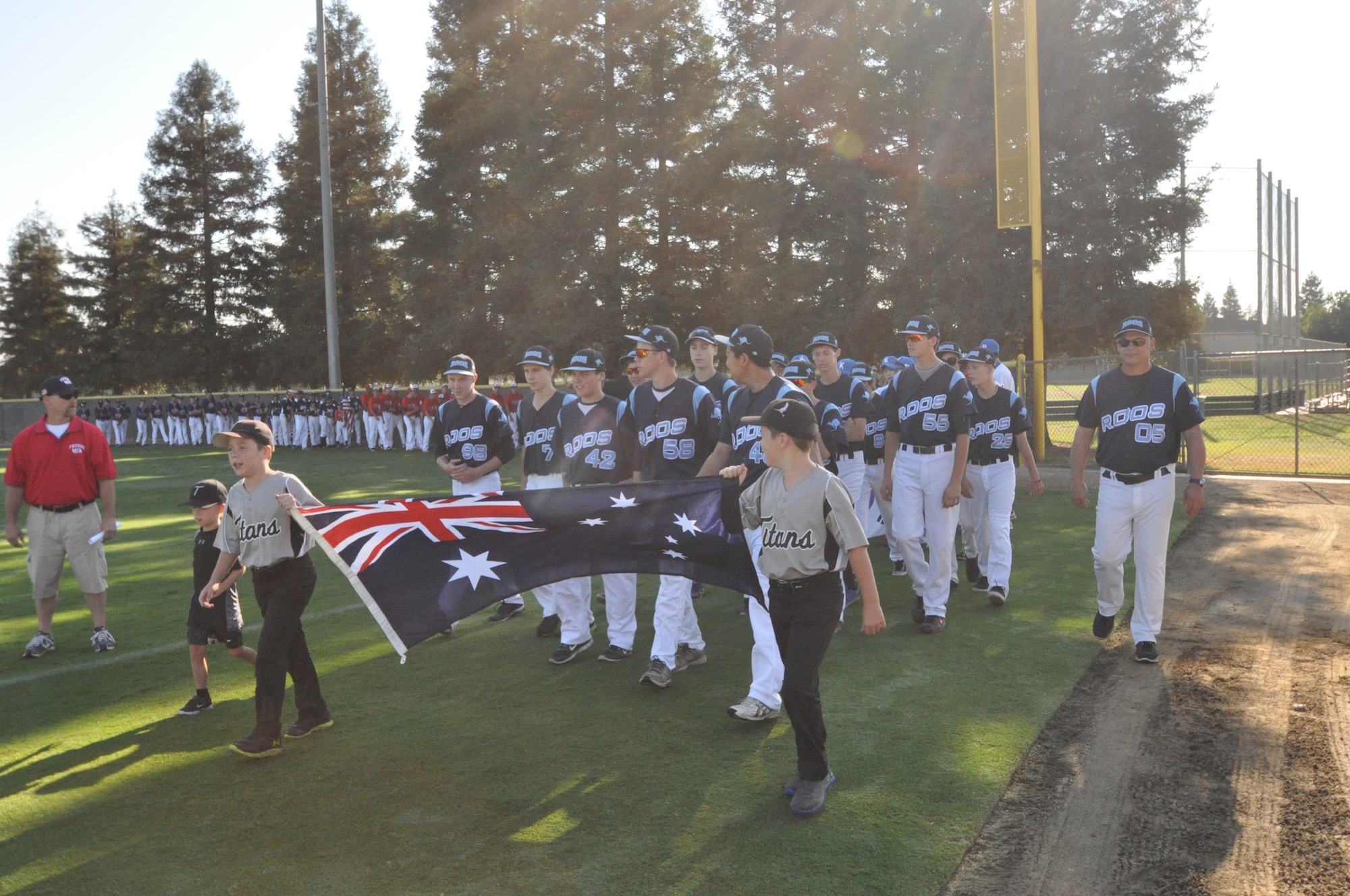 Fresno opening ceremony