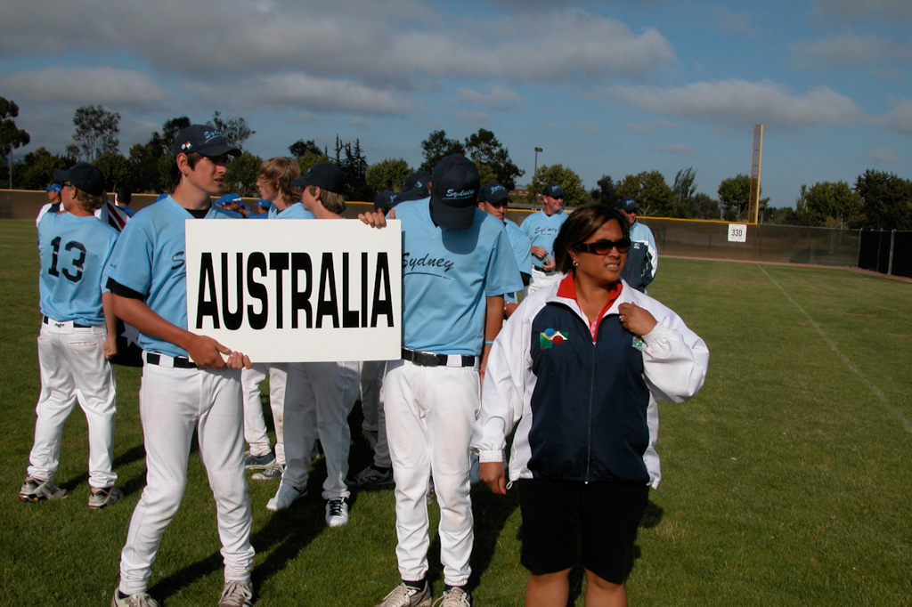 Roos at the 2008 opening ceremony