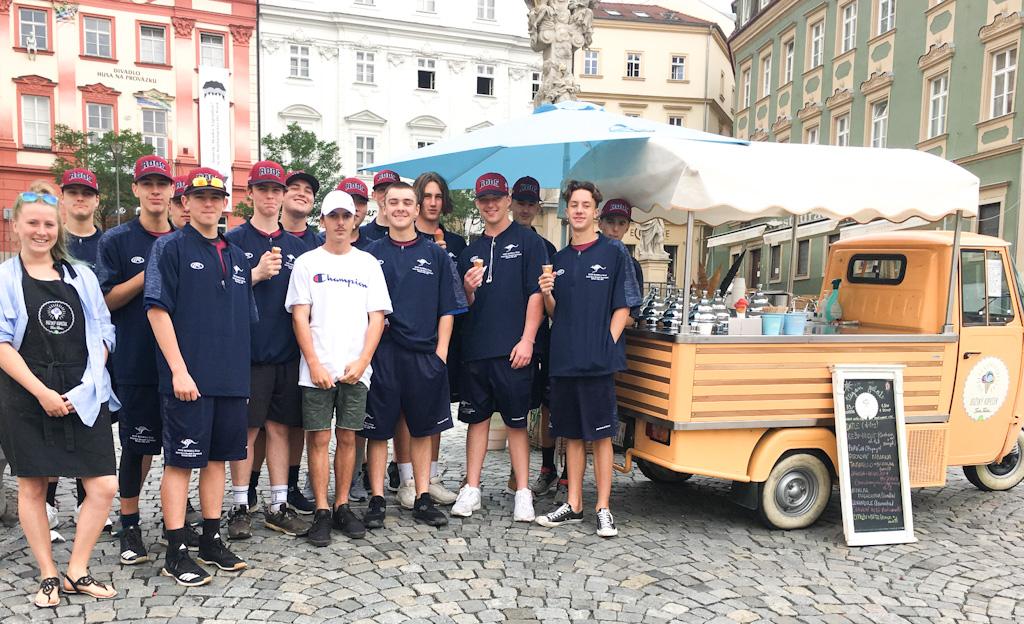Ice cream in Brno